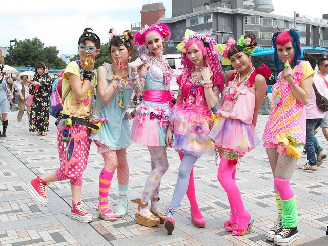 Japan's Unique Fashion Trend